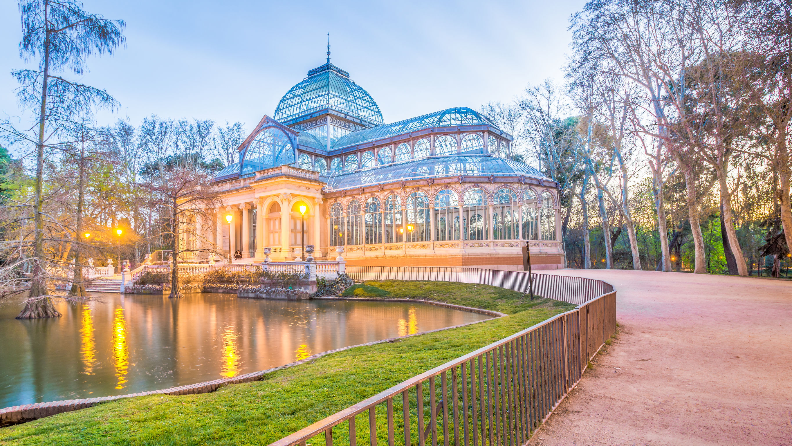 Crystal Palace at blue hour