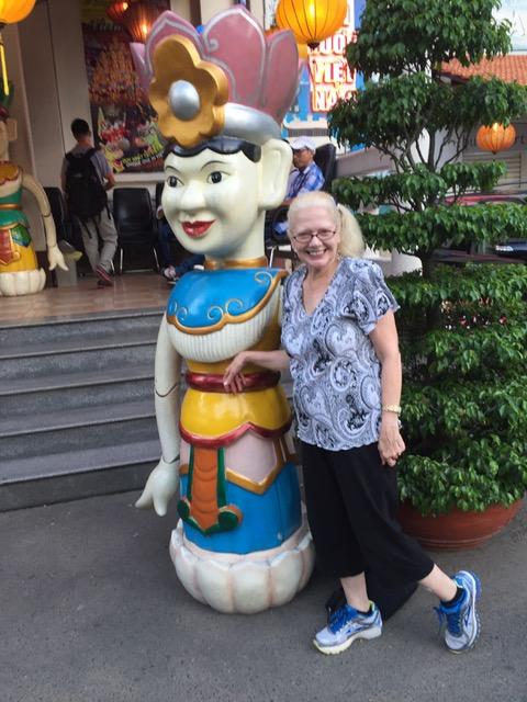 Tina in Saigon