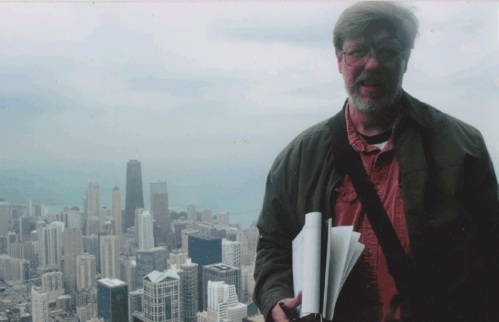 Reardon on the top of Sears Tower April, 2004