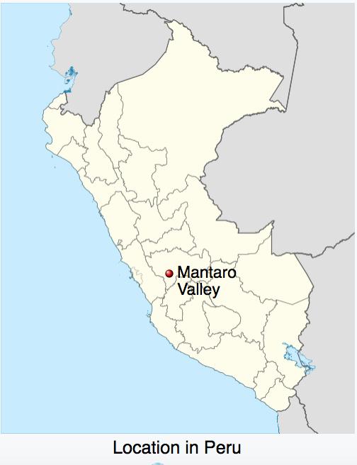 map peru