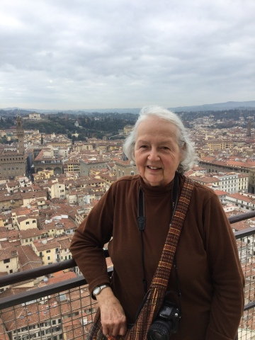 Wilda - on the Duomo roof overlooking Florence