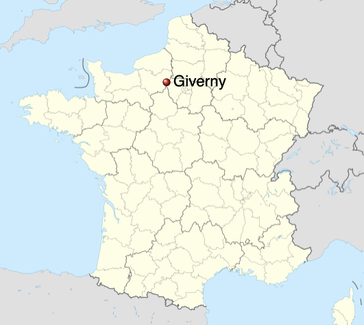 giverny map