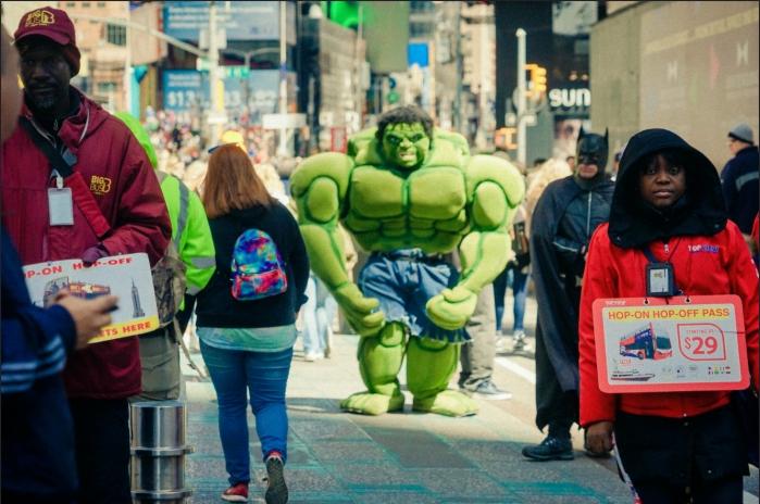 times square hulk